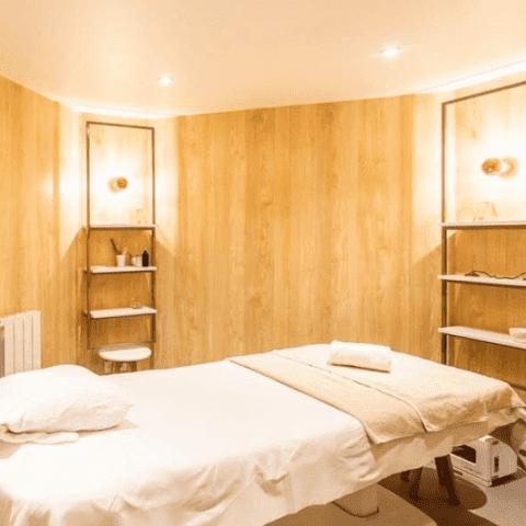 cabine de soins et massage les jardins suspendus