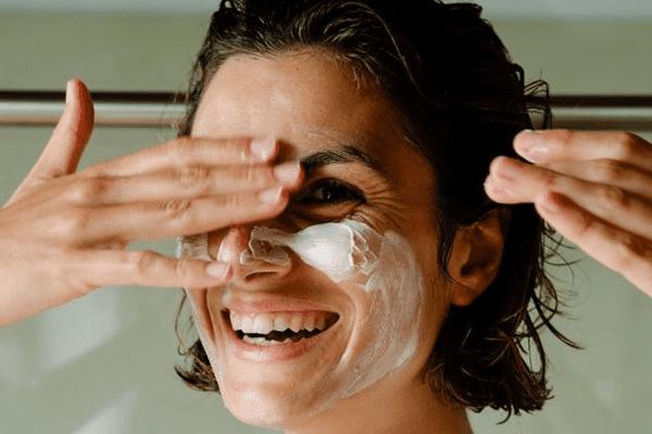 masque crème visage femme