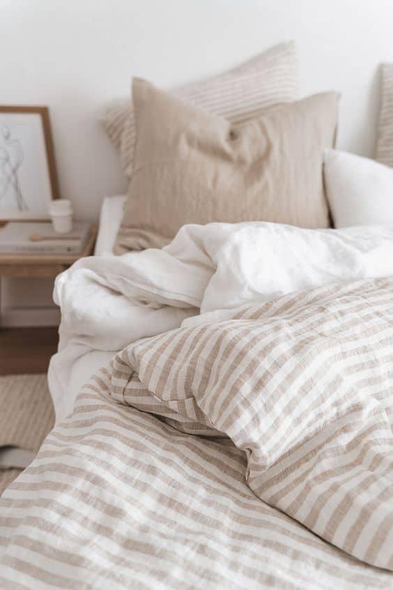 couette de lit bohème