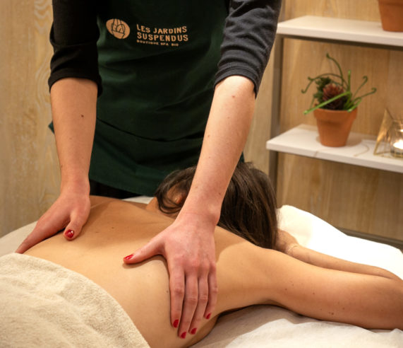 massage corps relaxant femme