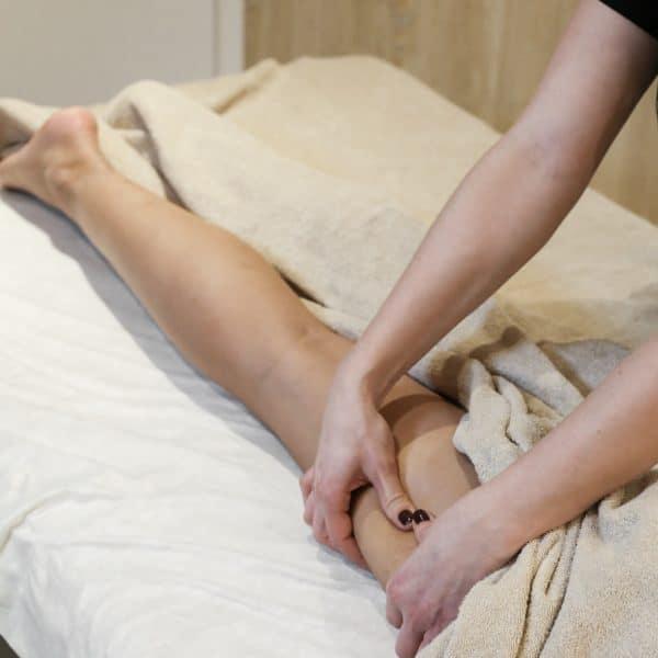 jambes massage