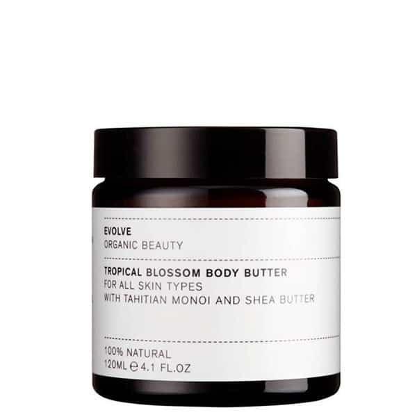 produit evolve beauty tropical blossom body butter